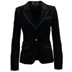 Gucci black velvet suit - Size 38