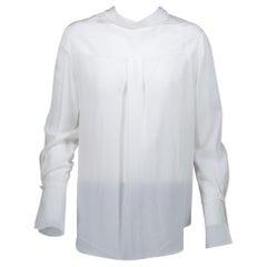 Chloé White Silk top - size 36
