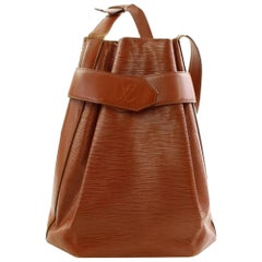 Louis Vuitton Sac D'epaule 866320 Brown Leather Shoulder Bag