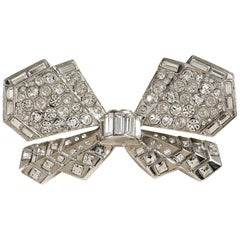 Chanel Crystal Butterfly Brooch