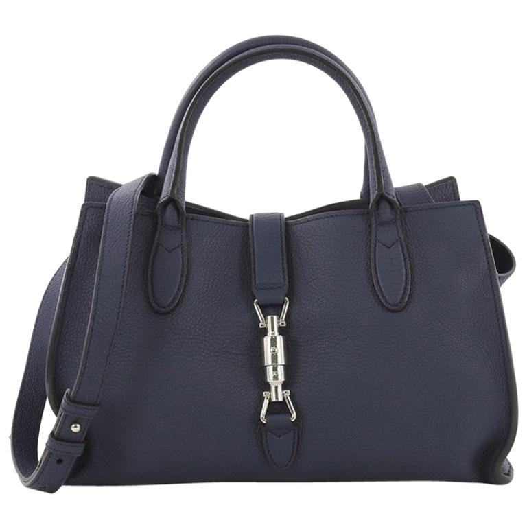 f076f9fce56e84 Gucci Jackie Soft Tote Leather Small For Sale at 1stdibs