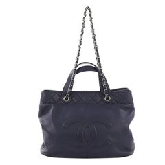Chanel Trianon Shopping Tote Leather Large
