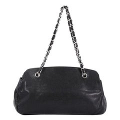 Chanel CC Bowler Bag Caviar Large