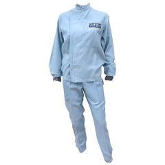 Authentic 1960's Auto Racing Uniform Suit