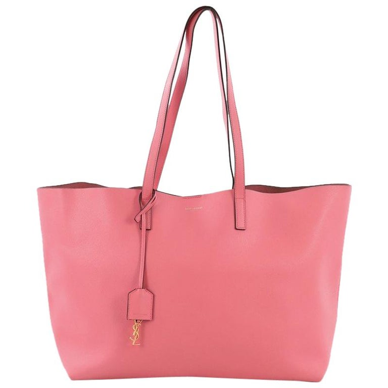 18f78f838 Saint Laurent Shopper Tote Leather Large For Sale at 1stdibs