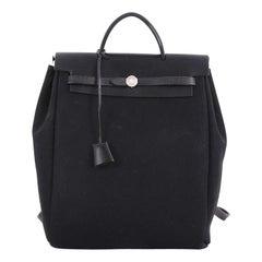 Hermes Herbag Backpack Toile