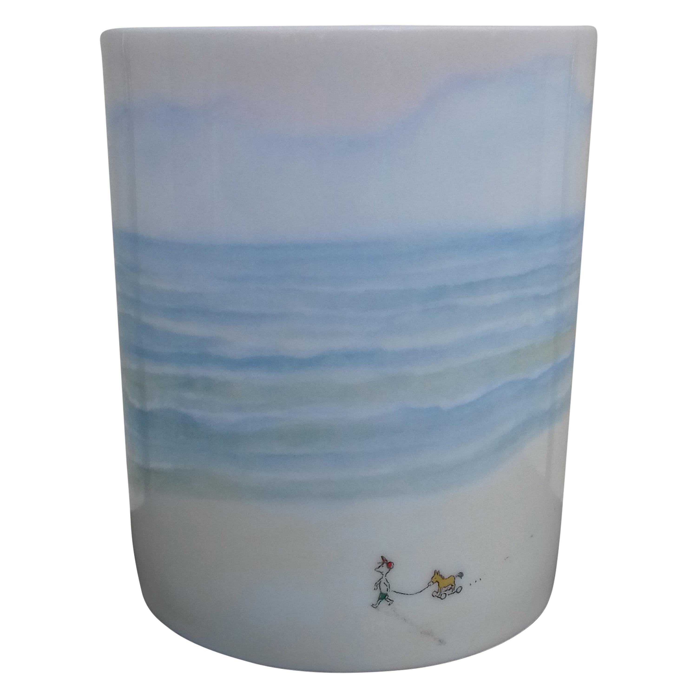 Hermès Porcelain Mug Cup Petit Nicolas First Step in Century Sempé Collector