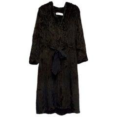 Christian Dior Longline Fur Coat