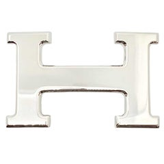 Hermes Buckle Silver Colour