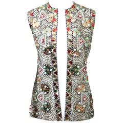 Lilli Ann 1960s Embellished Vest