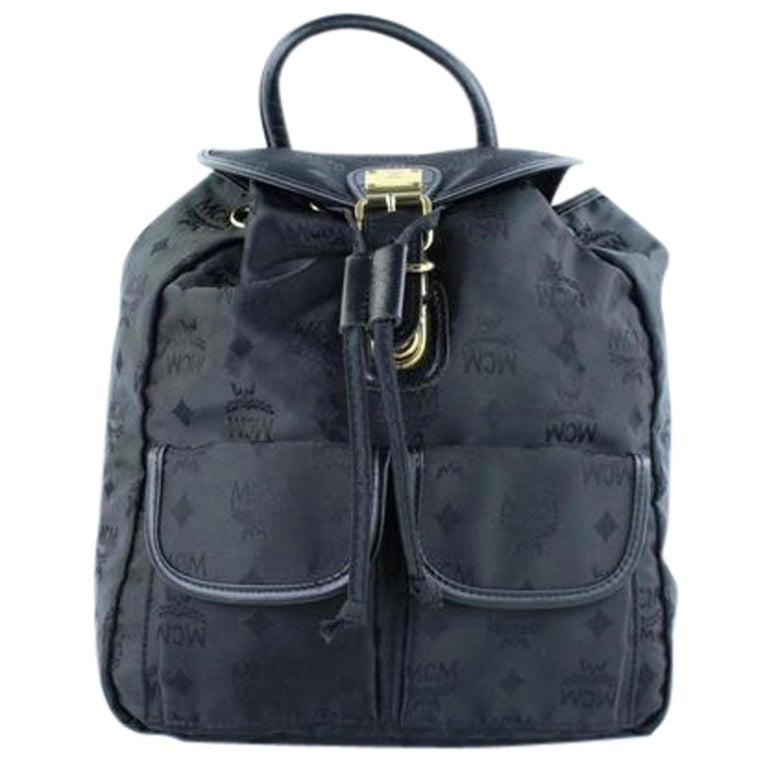 1726bee891b2 Visetos 222288 Black Nylon Backpack For Sale at 1stdibs