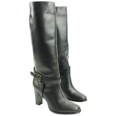 Burberry Black High Heel Lbslm119 Boots/Booties