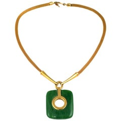 Trifari Bakelite Pendant Necklace