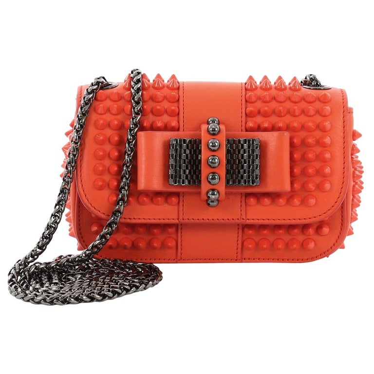 57aadd66705 Christian Louboutin Sweet Charity Crossbody Bag Spiked Leather Mini