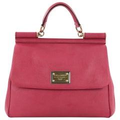 Dolce & Gabbana Miss Sicily Handbag Leather Large