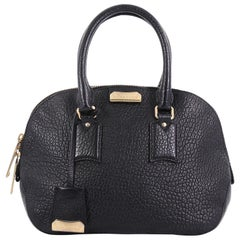 Burberry Orchard Bag Heritage Grained Leather Small