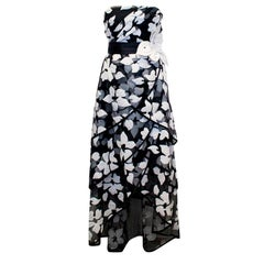 Marc Jacobs Black and White Gown