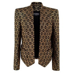 Balmain embroidered wool blazer XS