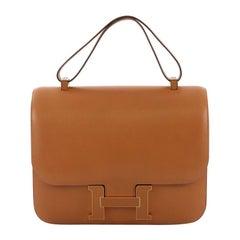 Hermes Bicolor Constance Cartable Bag Veau Butler 29