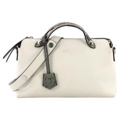 c40d83016608 Fendi By The Way Satchel Leather with Python Small