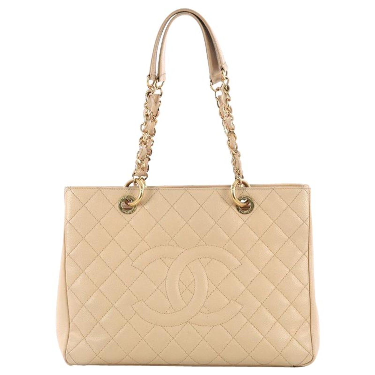 0b7010add8b2 Chanel Grand Shopping Tote Quilted Caviar at 1stdibs