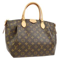 Louis Vuitton Monogram Small Carryall Top Handle Satchel Shoulder Bag