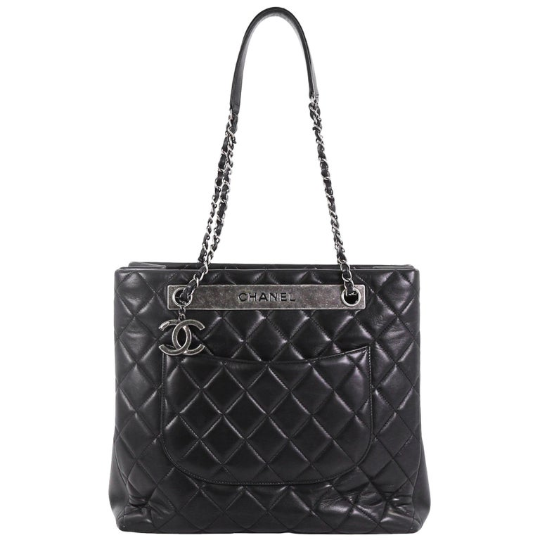 de6b0b92dc20 Chanel Trendy CC Tote Quilted Lambskin Large For Sale at 1stdibs