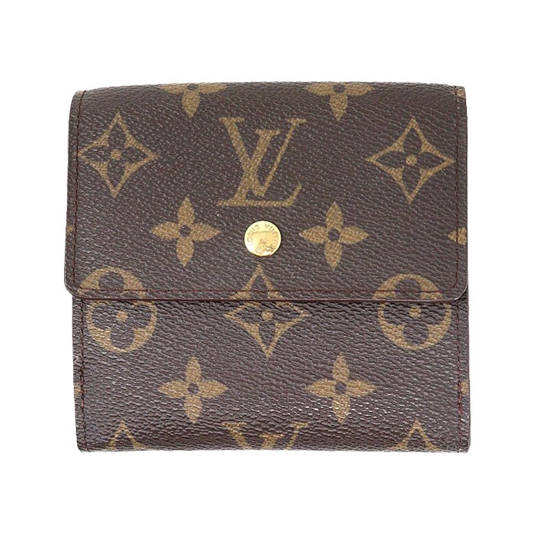 Louis Vuitton Monogram Vintage Snap Front Wallet