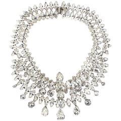 Stunning Mimi Di Niscemi Rhinestone Necklace
