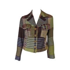 Linen blazer Bazar by Christian Lacroix size 38 France