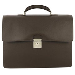 Louis Vuitton Robusto 1 Briefcase Taiga Leather