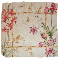 "Echo Multi-color ""Orchids"" Silk Scarf"