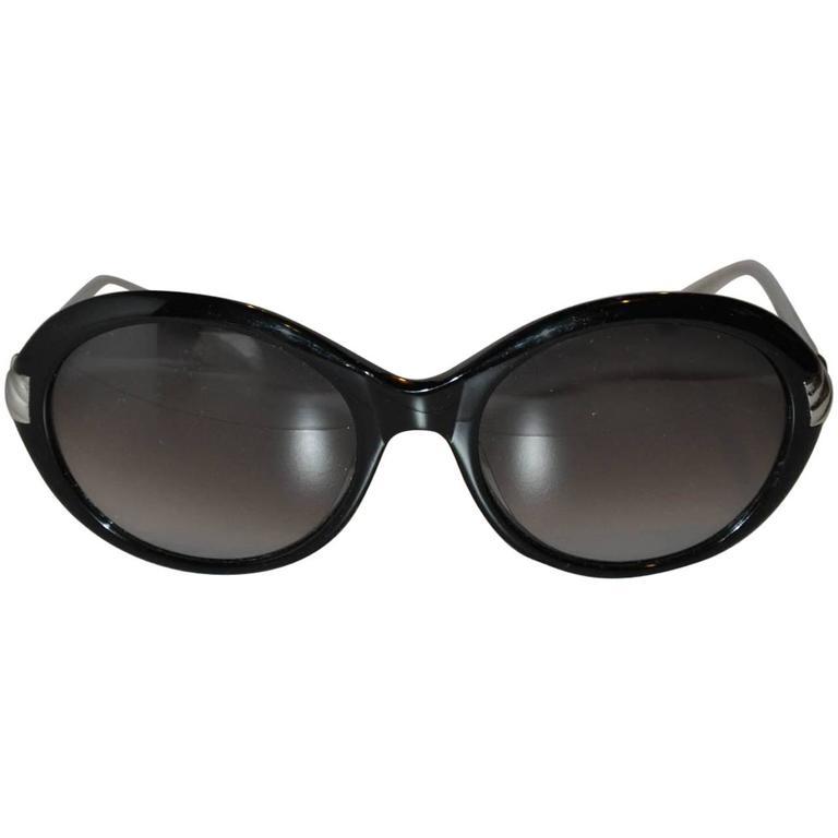 David Yurman Titanium Palladium Black Lucite Sunglasses