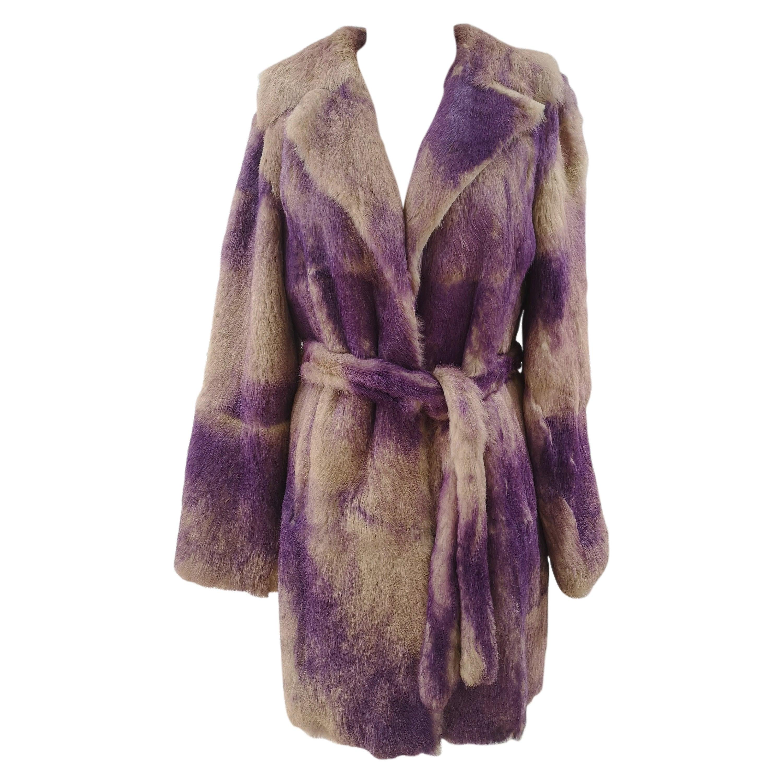 Versace Lapin Coat