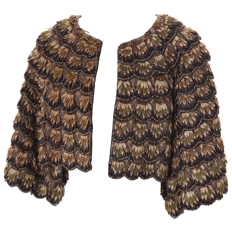 KENZO Couture Raffia Jacket, c.2000s.