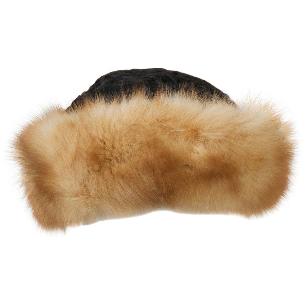 Birger Christensen Broadtail and Sable Hat