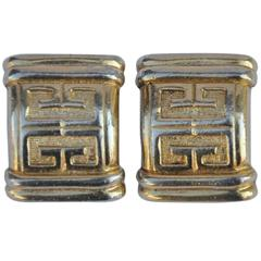 Givenchy Signature Gold Vermeil Ear Clips