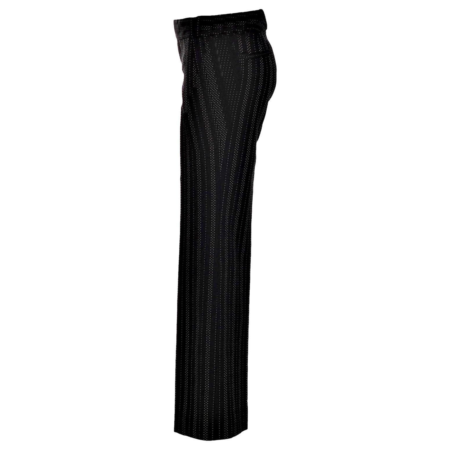 New Gucci 90th Anniversary Wool Runway Pants F/W 2011 Sz 38