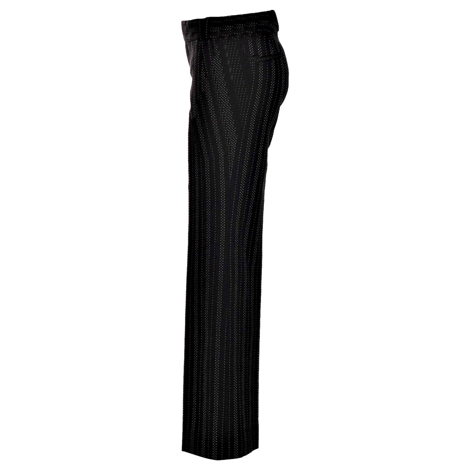 New Gucci 90th Anniversary Wool Runway Pants F/W 2011 Sz 40