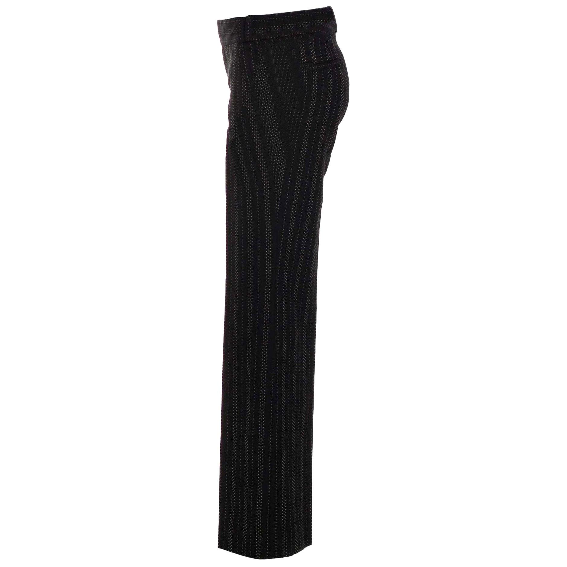 New Gucci 90th Anniversary Wool Runway Pants F/W 2011 Sz 46
