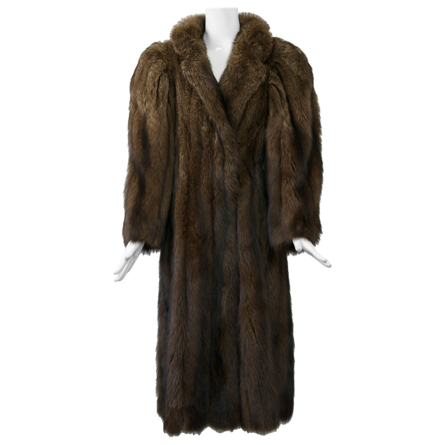 Fisher Fur Coat by Alixandre