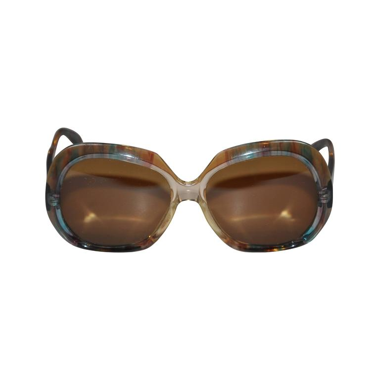 Rodenstock Multi-Color with Clear Lucite Sunglasses
