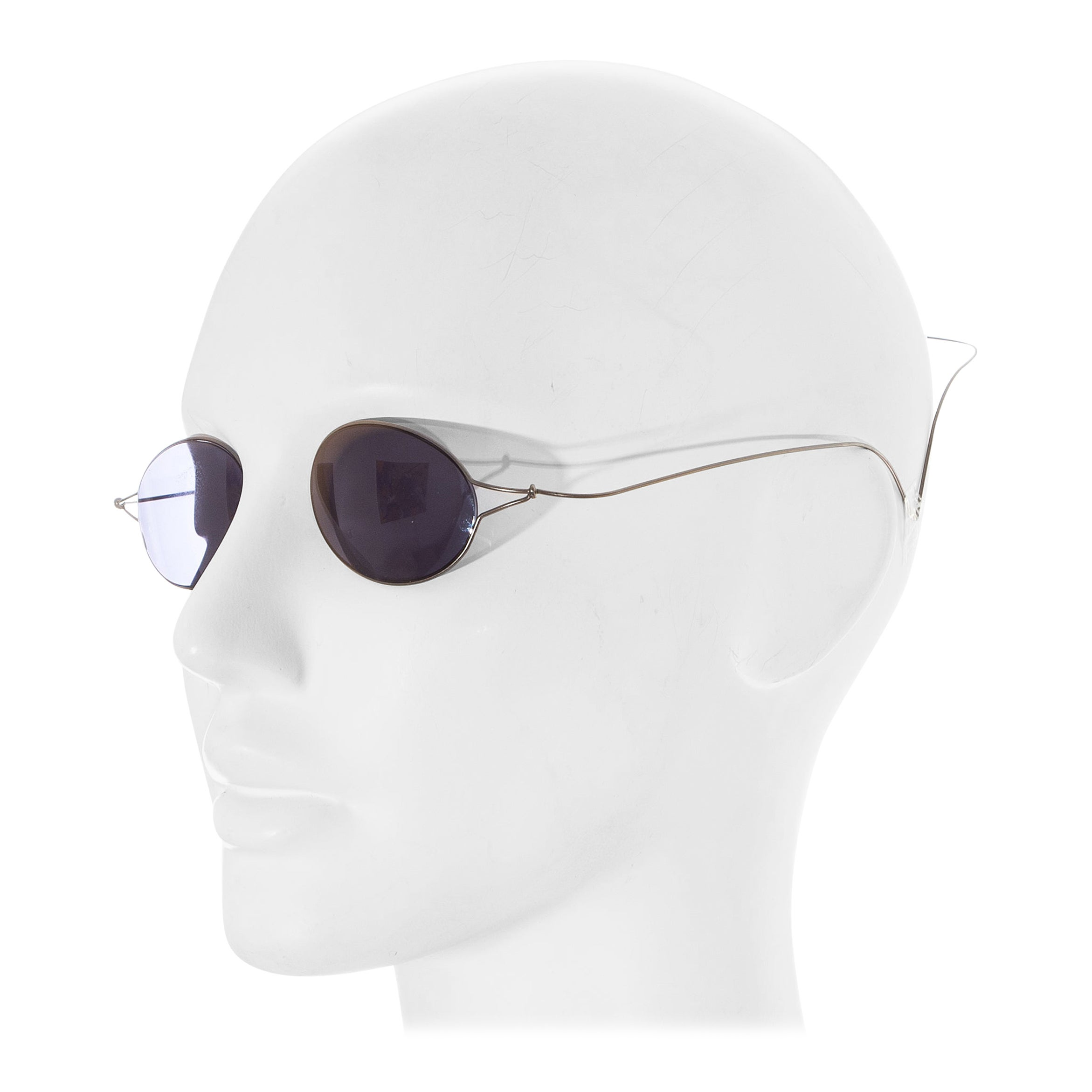 Chanel by Karl Lagerfeld 'Double Monocle' sunglasses for sunbathing, ss 1999