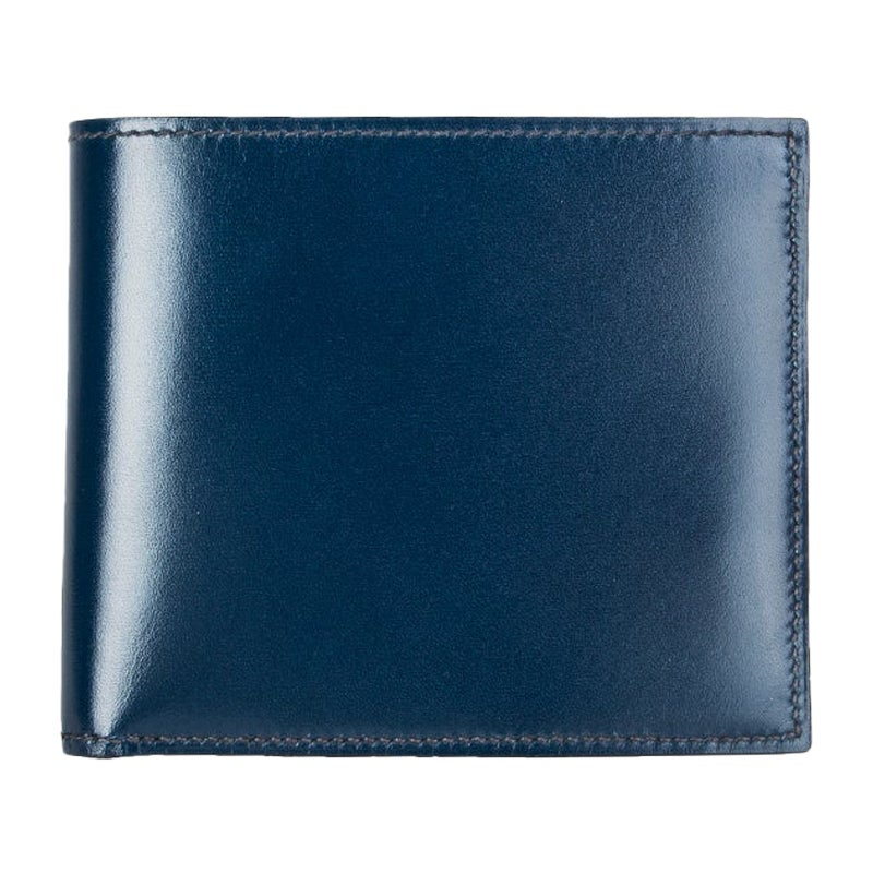 HERMES Bleu de Malte Eversoft leather MC2 COPERNIC Men's Wallet