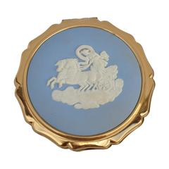 "Strotton ""Lady in Carriage"" Compact Case"