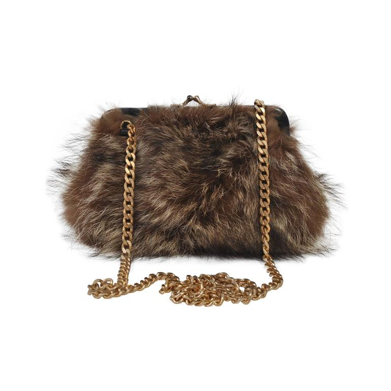 Fur Shoulder Bag