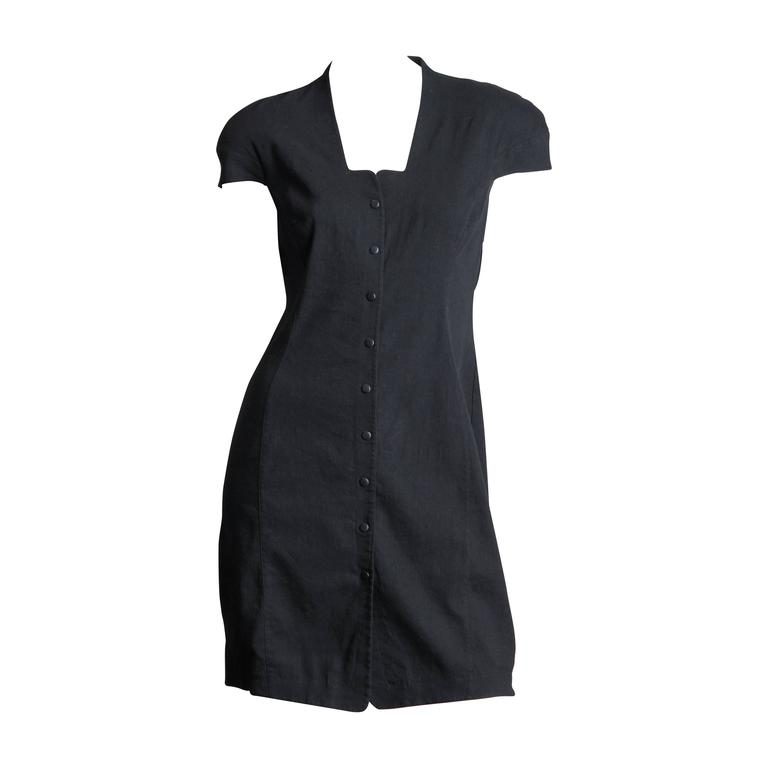 Mugler by Thierry Mugler Cotton LBD For Sale