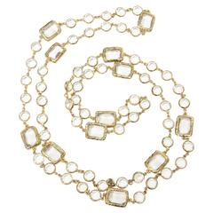 Chanel Chicklet Sautoir Necklace