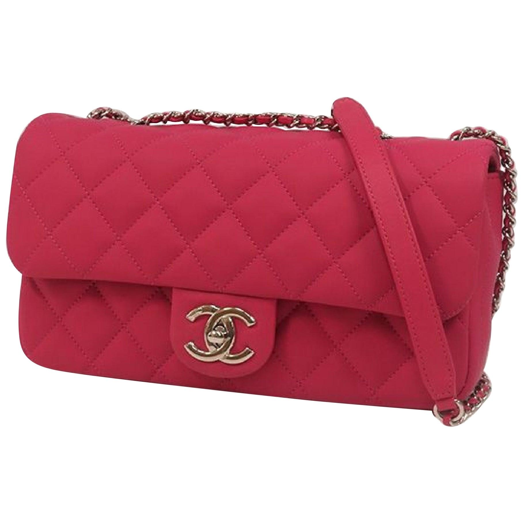 CHANEL matelasse chain shoulderー Womens shoulder bag pink x silver hardware