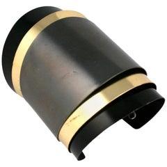 Unusual Hinged Tri Toned Bracelet